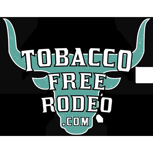 tobacco free rodeo logo